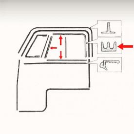 Kit de joints de vitres coulissantes (6 pièces)