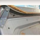 Joint de protection gris de glissière intérieure de ...