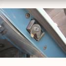 Mécanisme de fermeture de porte droite 8/73-