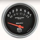 """Manomètre de pression d'huile """"SPORT COMP"""" diam 67mm..."""