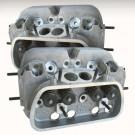 set de 2 culasses CB 044 round port  40x35.5mm CNC pour pistons en  94mm