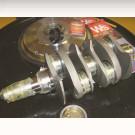 pack vilo69mm forgé,volant 200mm chromo,ecrou 36mm HD