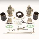 kit double carburateurs  40mm SCAT simple corps