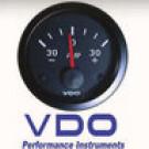 Ampèremètre -60/+60 amp diam 52mm fond noir VDO