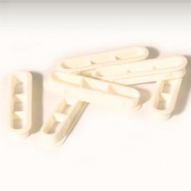 Set de 6 grilles d'aération de lunette arrière blanc...