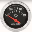 mano Temp huile autometer classic chrome