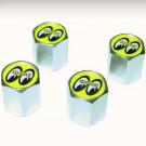 Set de 4 capuchons de valves de roues hexagonales MO...