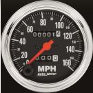 compteur de vitesse autometer  classic chrome 80mm