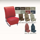 Kit housses de sièges (av+arr) gris clair 68-69 avec...