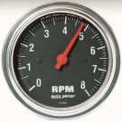 compte tour autometer classic chrome 8000rpm