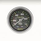 mano pression huile carbone 52mm autometer