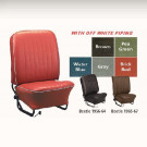 Kit housses de sièges (av+arr) gris clair  56-57