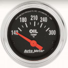mano Temp huile autometer classic chrome
