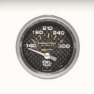 mano temperature huile carbone 52mm autometer