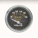 voltmetre carbone 52mm autometer
