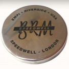Cache moyeu aluminium anglais pour BRM applicable su...